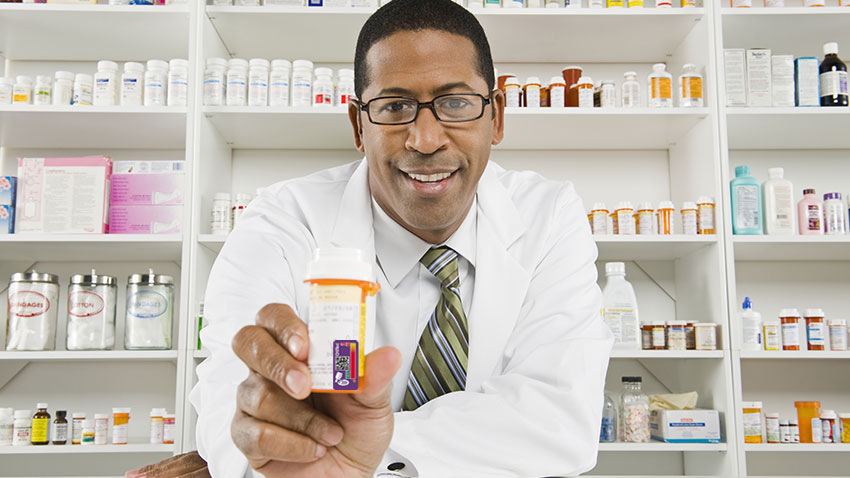 compounding pharmacist. using time monitoring technology